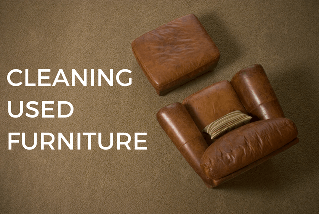 Cleaning Used Furniture