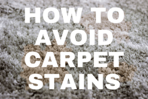 How to avoid carpet stains