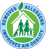 chem-dry removes allergens and improves air quality badge